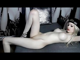 Beautiful albina masturbating for the camera vany love part 1