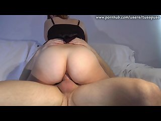 Anal quickie in the sofa