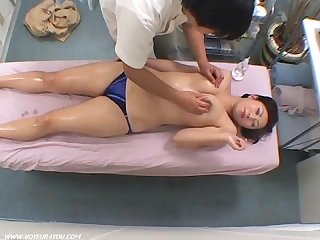 Body treatment massage voyeurism
