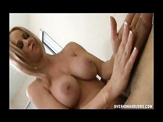 Horny milf enjoys big sized cocks