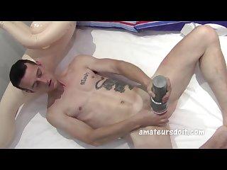 Amateur blow up fuck
