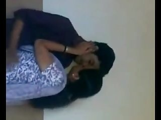 Indian college girl romance at bathroom