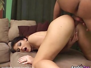 Sexy sophie dee gives head and gets her ass fucked deep