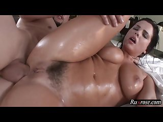 Keisha grey oily anal pounding hd