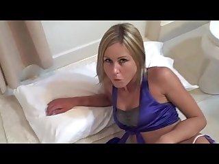 Sarah tricked into shiny bondage