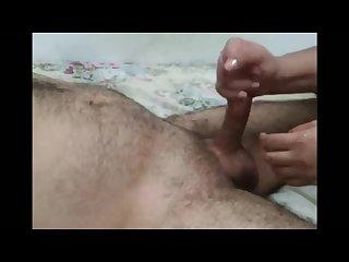 Handjob she ruthlessly edges him and ruins both orgasms