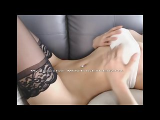 Tiny pale slut gets anally Abused and swallows cum