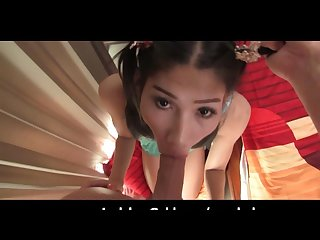 Ladyboy teen lyomi ready to be plunged
