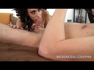 Milf squirts and gets creampie d