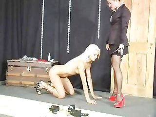 Bondage bitch interviews scene 1
