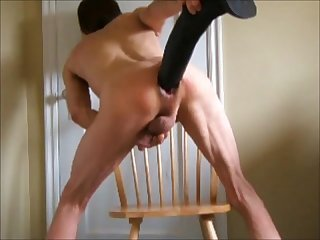 Stallion horse penis and fist fuck double anal huge dildos