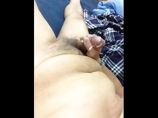 Asian fat daddy wank Scream cumming