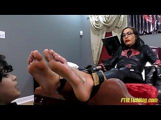 G.I. Toe, Pt. 9: Ticklish, Barefoot Baroness!
