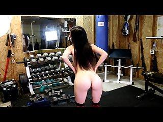 Nikki blade strip tease