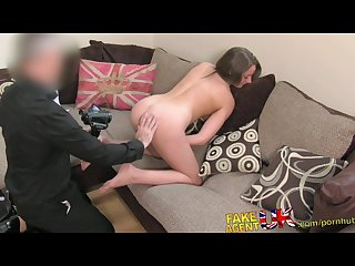 Fakeagentuk sexy legs brit chick goes to porn casting unexpected