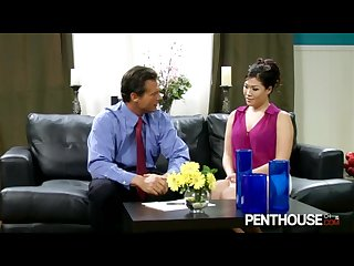 Pethouse london keyes works a hard shaft