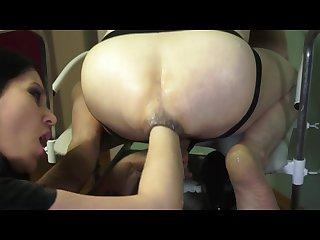 Russian domina bella fisting slave