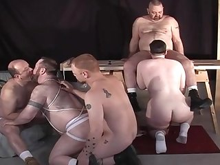 Gay bear orgy