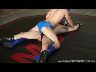 Masked super hero Wrestling 69 headscissors from mdw