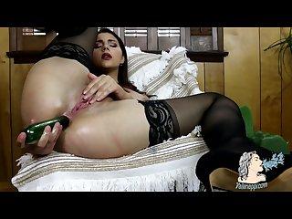 Valentina nappi anal masturbation