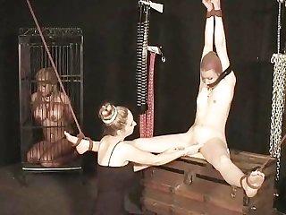 B for bondage scene 2