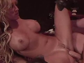 Horny Jill Kelly takes a hard cock in her ass