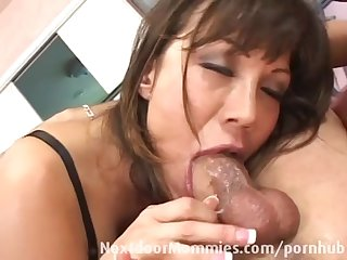 Milf gets fucked and gets caught
