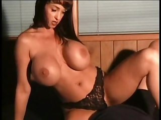 Big tits Facesitting and smothering