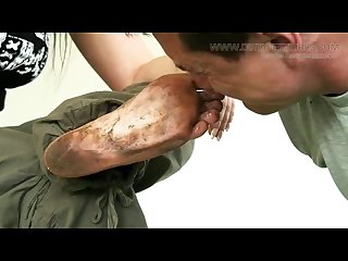 Extreme dirty feet worship