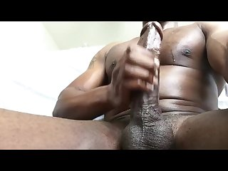 Black Muscle Daddy Solo