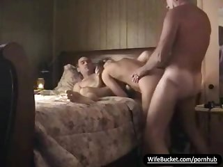 Real milf mrs adams gets shared with hubby s friend