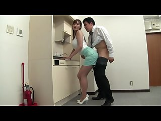 Ktb 005 part housewife ol yurika S big breast pat S pants suit