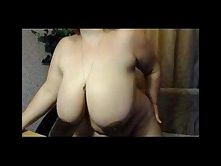 Granny shaggy boobs