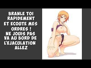 French joi cei Futa nami instruction franais jerk off instruction