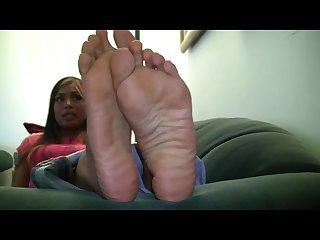 Wide meaty soles