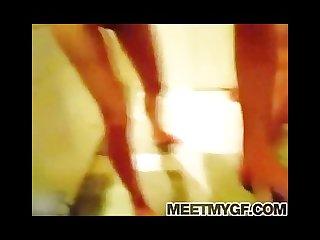 Hot brunette girlfriend webcam sex