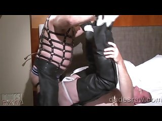 Leather daddies bareback