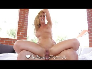 Puremature guy fucks stepmom cherie deville in the ass