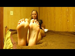 Brooke s smelly feet joi with countdown cum on soles