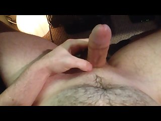 Pissing and cumming on myself