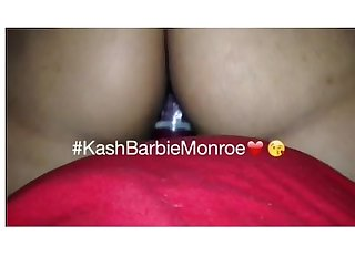 Kash barbie rides dildo for girlfriend