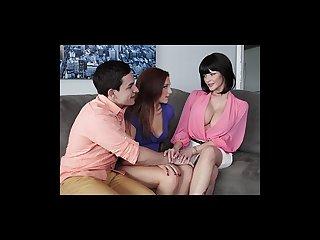 Mofos hot milf teaches young couple