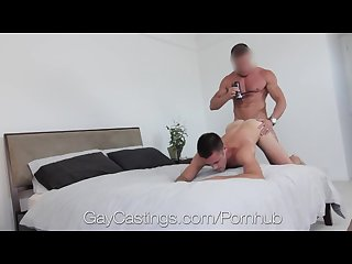 Hd gaycastings hot straight guy with huge dick auditions for gay porn