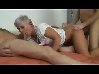 German tattooed soccermon kathi parker S fuck turns into threesome