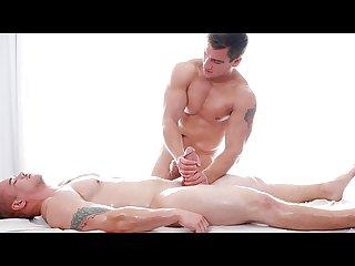 Gayroom buff muscle hunks massage big dicks
