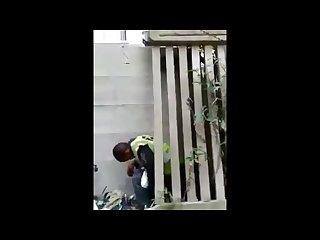 City Worker got caught fucking on the job