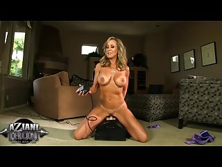 Sexy milf riding the sybian