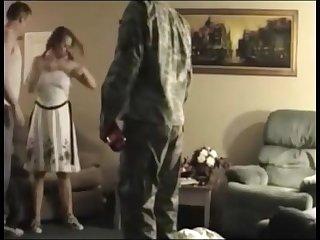 Redhead caught fucking boyfriend\'s best friend