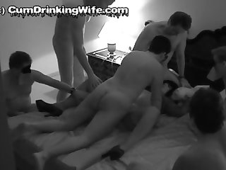 Slutwife marion gangbanged by 10 guys