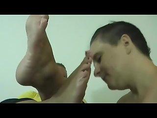Lesbian bbw disgusting foot worship ugly woman